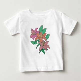 Lilies Baby T-Shirt