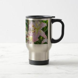 LILIES Coffee Mugs gifts Pink Lily Flowers Mug