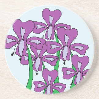 Lilies Drink Coaster