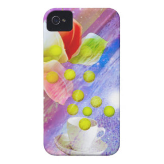Lilies drop tennis balls to celebrate . Case-Mate iPhone 4 cases