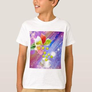 Lilies drop tennis balls to celebrate . T-Shirt