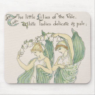 Lilies of the Vale, from Flora's Feast, 1901 (colo Mouse Pad