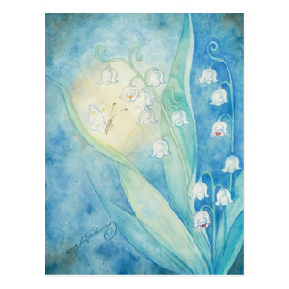 Lilies Of The Valley Art Cards Postcard