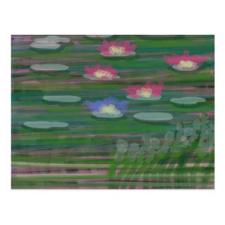 Lilies on Water Postcards
