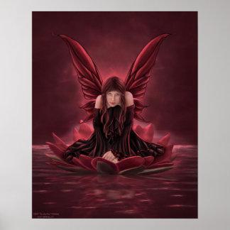Lilith-Dark Fairy Poster