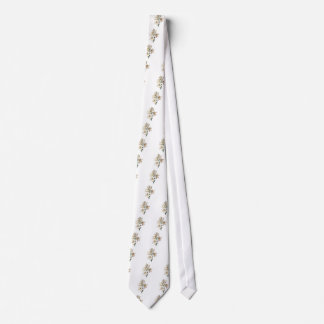 Lilium Candidum or Madonna Lily By Redoute Tie