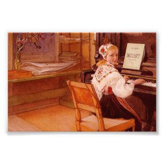 Lillanna Playing Mozart Art Photo