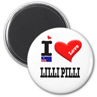 LILLI PILLI - I Love Magnet
