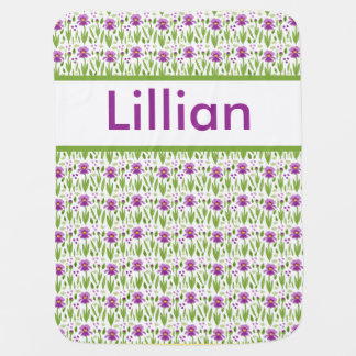 Lillian's Personalized Iris Blanket