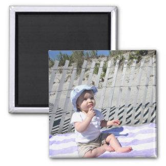 Lillie Beach Magnet