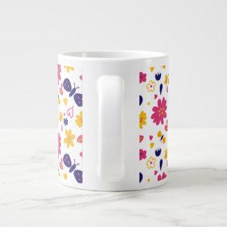 Lillie flower / nature large coffee mug