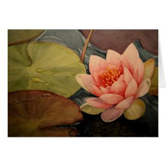 Lillies Beauty Card