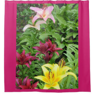 Lillies Garden Shower Curtain