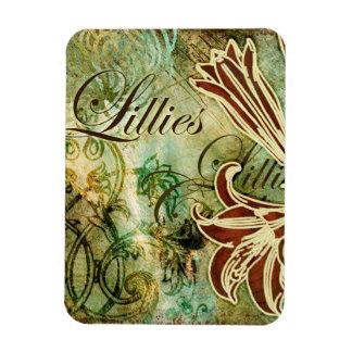 Lillies Magnet