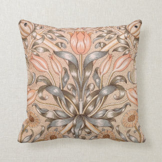 Lilly and Pomegranate Throw Pillow