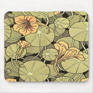 Lilly Flowers Mouse Pads