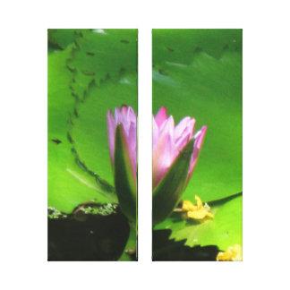 """Lilly Pad"" 14"" x 11"", 1.5"", Split Canvas Canvas Print"