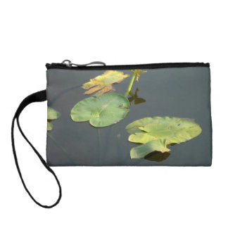 Lilly Pad Clutch Change Purses