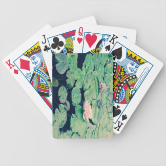 Lilly pad crossprocess2 bicycle playing cards