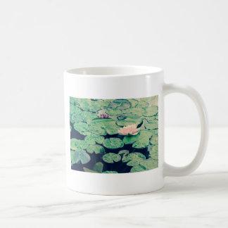 Lilly pad crossprocess2 coffee mug