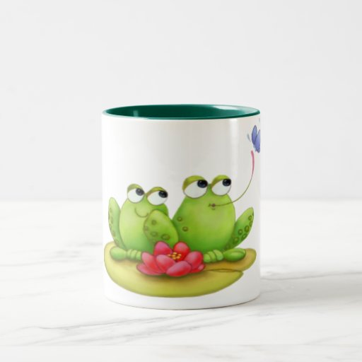 Lilly Pad Frogs Mug