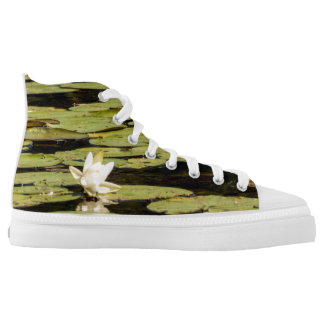 Lilly Pad Printed Shoes