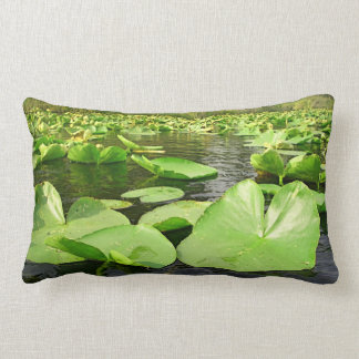 Lilly Pads Throw Pillows