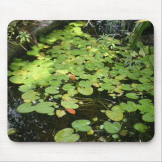lilly pads mouse pad