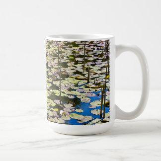 Lilly pads coffee mugs