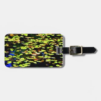 Lilly Pads on Pond Luggage Tag