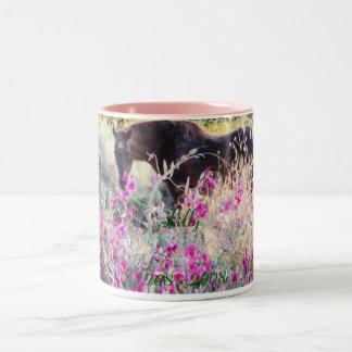 Lilly                                        ... Two-Tone coffee mug