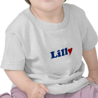 Lilly with Heart T Shirt