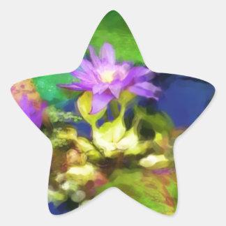 Lillypad 1 star sticker
