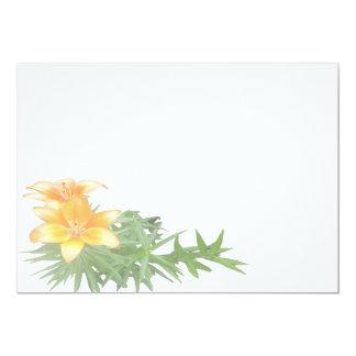Lillys a Blur 5x7 Paper Invitation Card