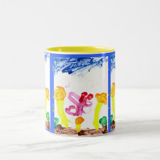 Lilly's Masterpiece Two-Tone Coffee Mug
