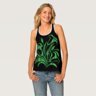 LILLY'S OF THE VALLEY SINGLET