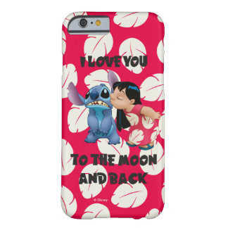 Lilo & Stich | I Love You To The Moon Barely There iPhone 6 Case