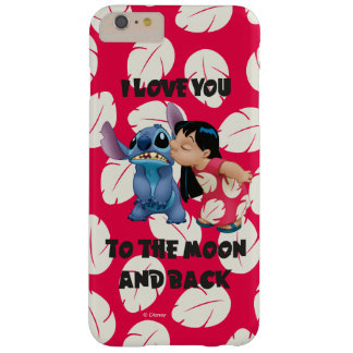 Lilo & Stich | I Love You To The Moon Barely There iPhone 6 Plus Case