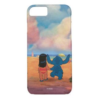 Lilo & Stich  Lilo & Stitch At The Beach iPhone 8/7 Case