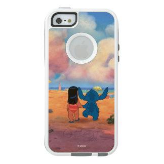 Lilo & Stich  Lilo & Stitch At The Beach OtterBox iPhone 5/5s/SE Case