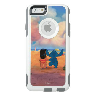 Lilo & Stich |Lilo & Stitch At The Beach OtterBox iPhone 6/6s Case