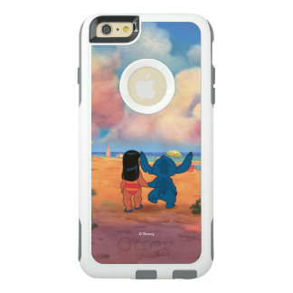 Lilo & Stich |Lilo & Stitch At The Beach OtterBox iPhone 6/6s Plus Case