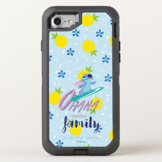 Lilo & Stich   Ohana Means Family OtterBox Defender iPhone 8/7 Case