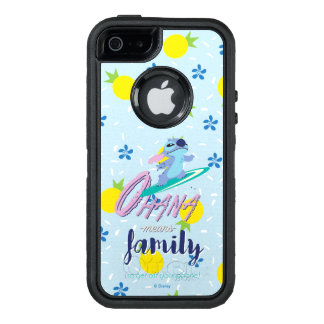 Lilo & Stich | Ohana Means Family OtterBox Defender iPhone Case
