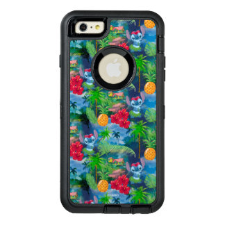 Lilo & Stich | Stitch Pattern OtterBox Defender iPhone Case