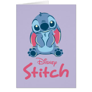 Lilo & Stich   Stitch & Scrump Card