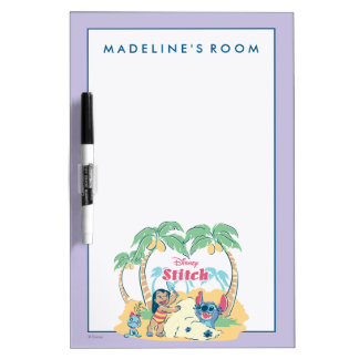 Lilo & Stitch | Come visit the islands! Dry Erase Board