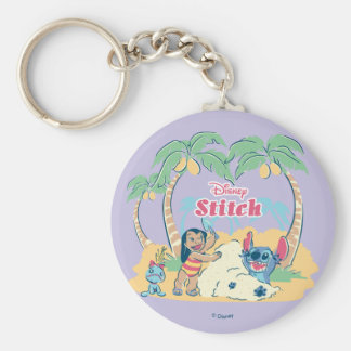 Lilo & Stitch | Come visit the islands! Key Ring