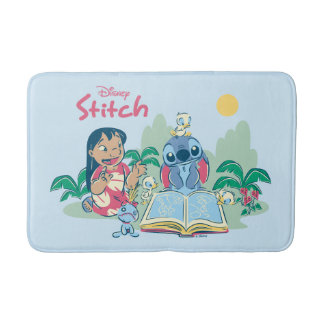 Lilo & Stitch | Reading the Ugly Duckling Bath Mat