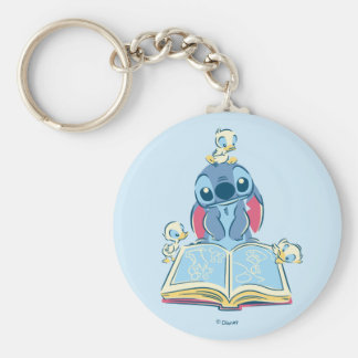 Lilo & Stitch | Reading the Ugly Duckling Key Ring